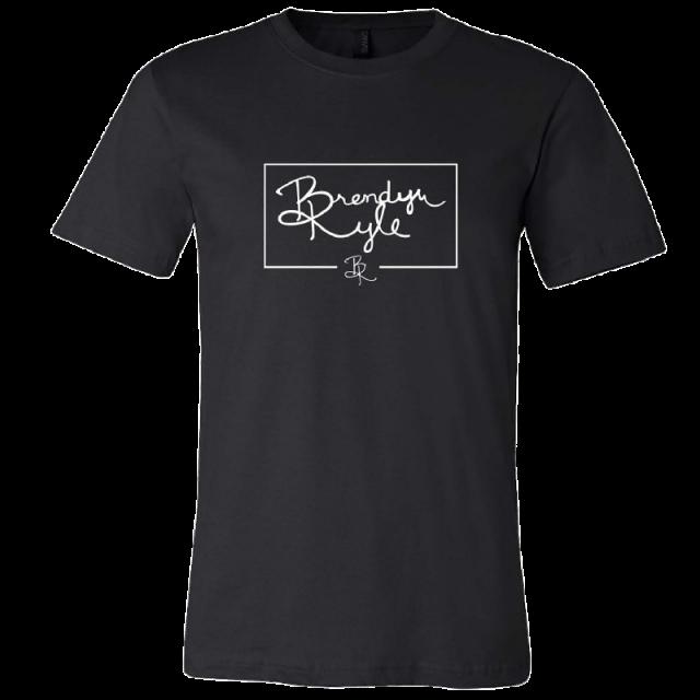Brendyn Kyle Black Logo Tee